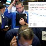Dow Jones sigue cayendo; Wall Street cerró con baja del 4.1%