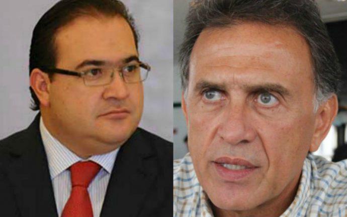 Desde la cárcel, Javier Duarte denuncia a Yunes por enriquecimiento y lavado de dinero