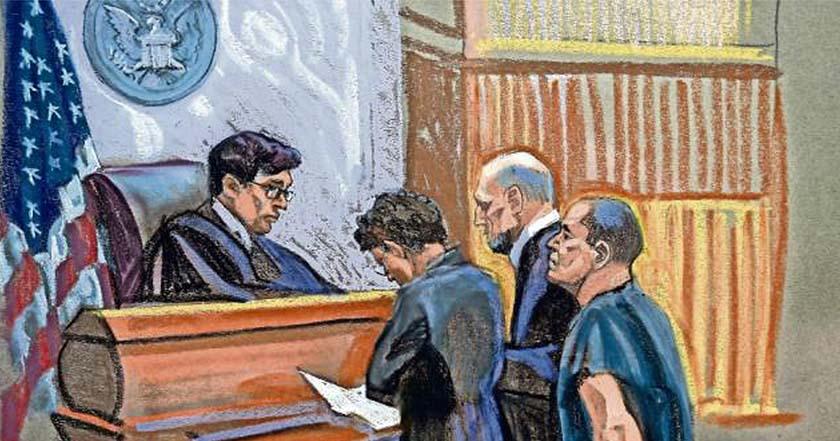 Joaquín El Chapo Guzmán Loera en juicio EU