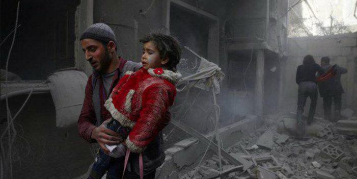 Guta, Siria; una semana de masacres contra civiles