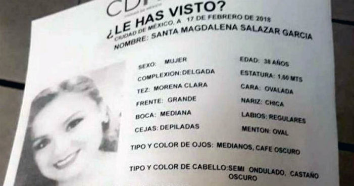 Hallan en en Milpa Alta cuerpo de teniente enfermera desaparecida desde el viernes