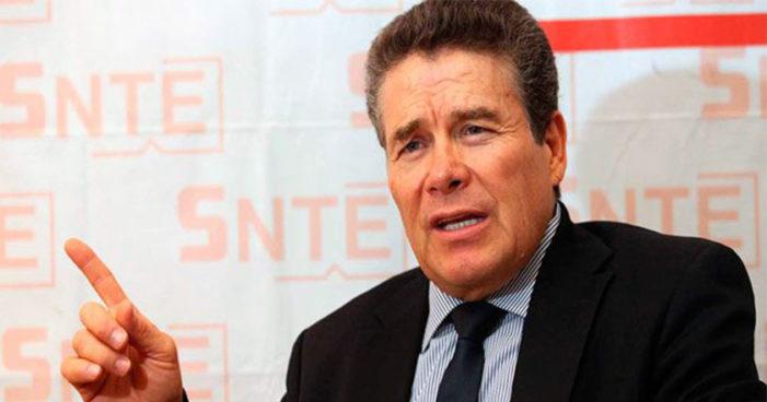 Juan Díaz de la Torre se reelige como presidente del SNTE vía planilla única