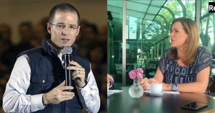 Margarita Zavala: 'La panista soy yo, Ricardo Anaya se adueñó del PAN con traiciones'