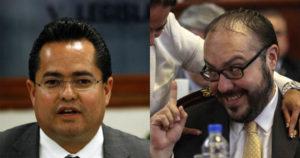 Mauricio Toledo y Leonel Luna