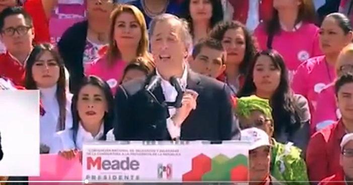 Meade propone un 'Registro Nacional de Necesidades de Cada Persona'; lo tunden en redes