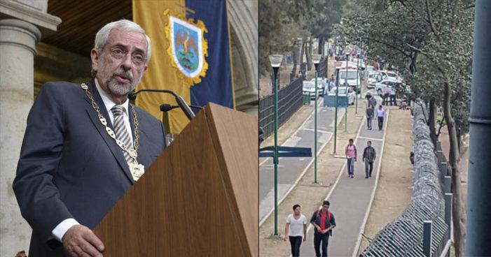 'Ni policías ni militares entrarán a la UNAM': Graue tras balacera en CU