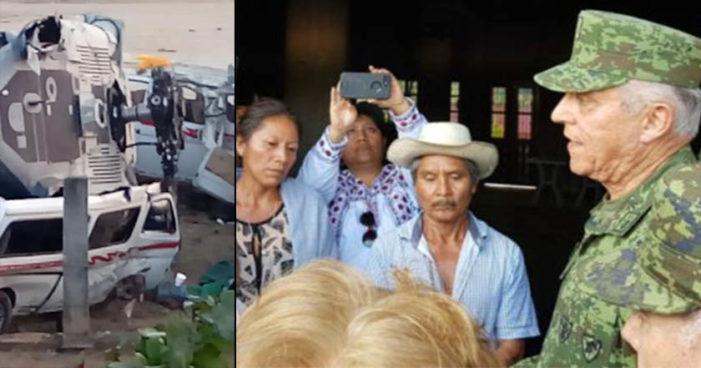 'No lo habría ordenado': Cienfuegos sobre helicóptero de Jamiltepec, Sedena asume responsabilidad