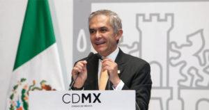 jefe de Gobierno de la Ciudad de México, Miguel Ángel Mancera