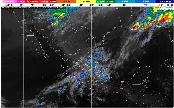 Se pronostican lluvias y bancos de niebla en Hidalgo