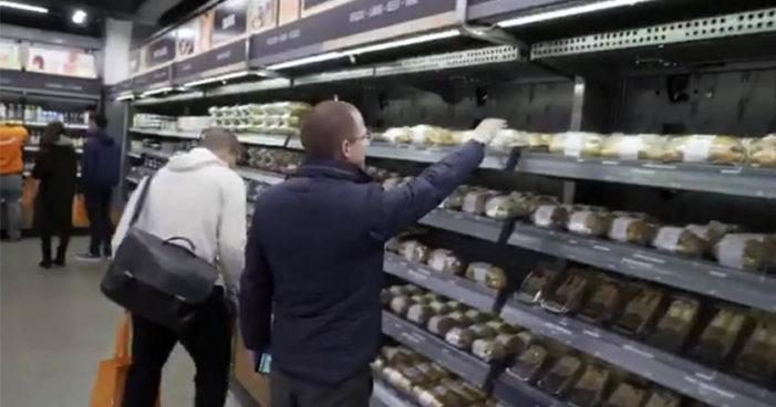 Ricardo Anaya compra pan en tiempo récord (Video)