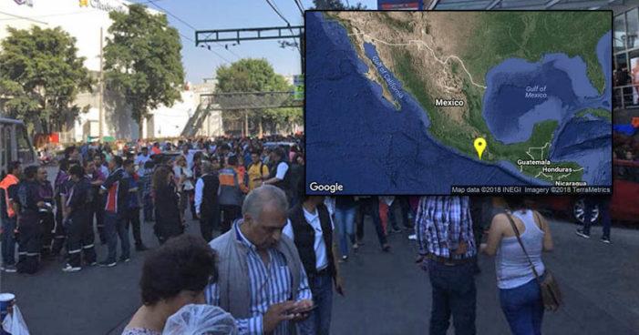 Se activa alerta sísmica en Cd. de México por sismo en Pinotepa Nacional, Oaxaca