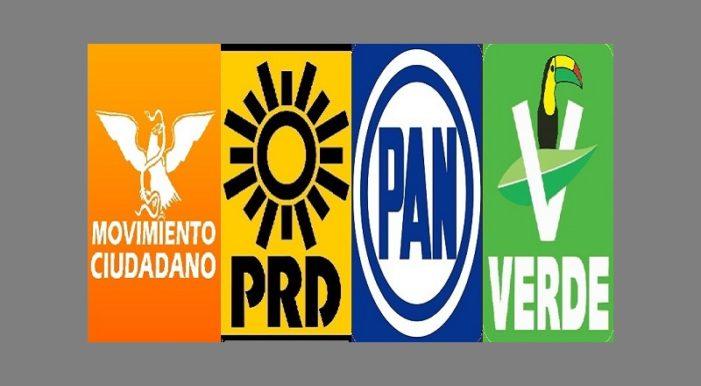 Partido Verde rompe con el PRI y se une al PAN-PRD-MC en Chiapas
