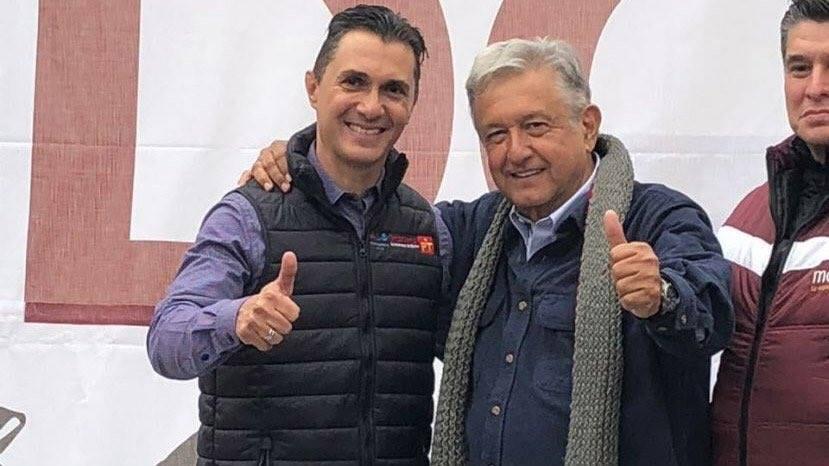 Palomea Morena a Adolfo Ríos para Edil