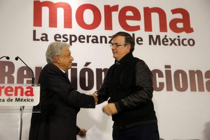 Mancera está con la derecha, la izquierda la encabeza AMLO: Marcelo Ebrard