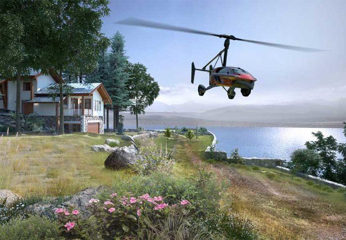 Dan a conocer el primer auto volador, en un mes se presentará en Ginebra