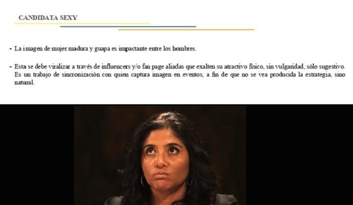 Filtran estrategia electoral de Barrales, la candidata sexy