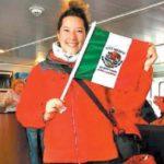 Primera científica mexicana partió hacia la Antártida