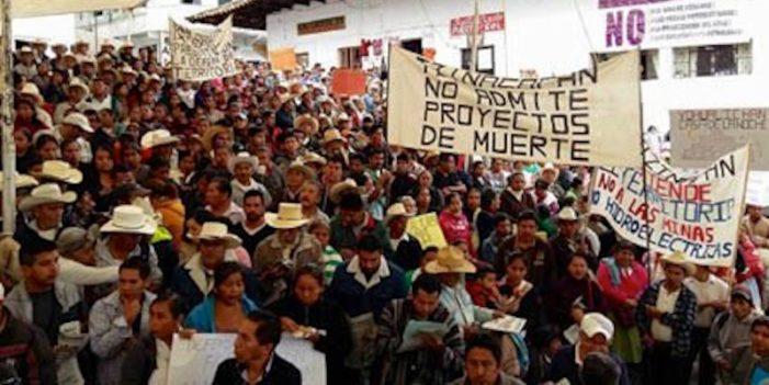 Más de 7 mil firmas contra acoso judicial a ambientalistas en Cuetzalan
