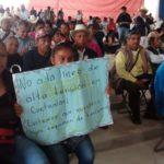 Llamado contra criminalización a defensores del Territorio en Cuetzalan