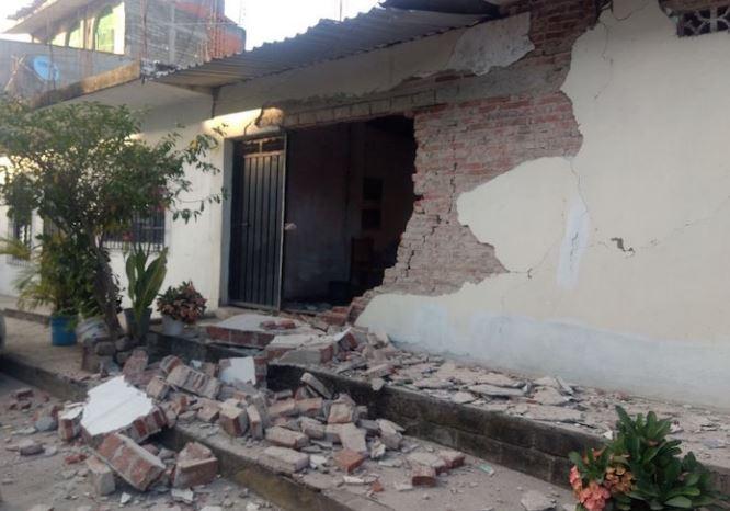 El sismo dejó daños materiales en Oaxaca, no se registraron heridos