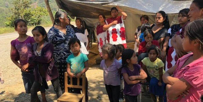 Chalchihuitán, Chiapas; permanecen desplazados más de mil indígenas