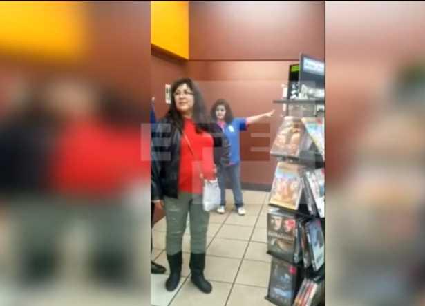 Empleada de gasolinera de EU discrimina y llama 'brown people' a clientes hispanos (VIDEO)