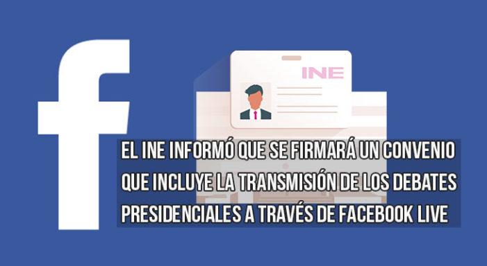 Facebook colaborará con INE para promover el voto en 2018