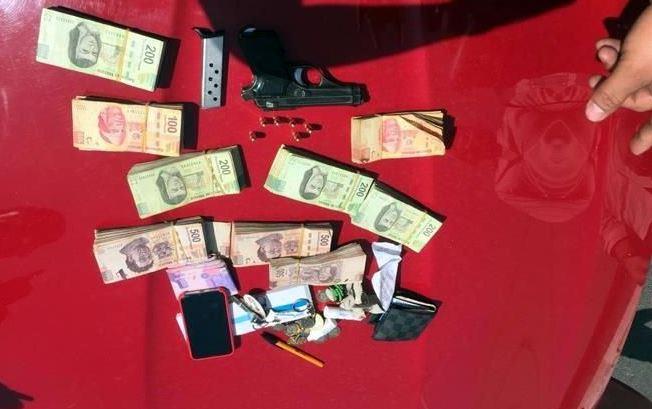 Hijo de regidor de Edomex es detenido, portaba arma sin permiso y 230 mil pesos