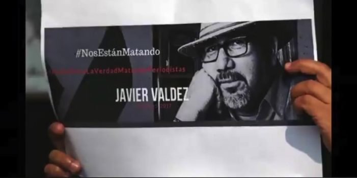 Sinaloa, movilización a 9 meses del asesinato del periodista Javier Valdez
