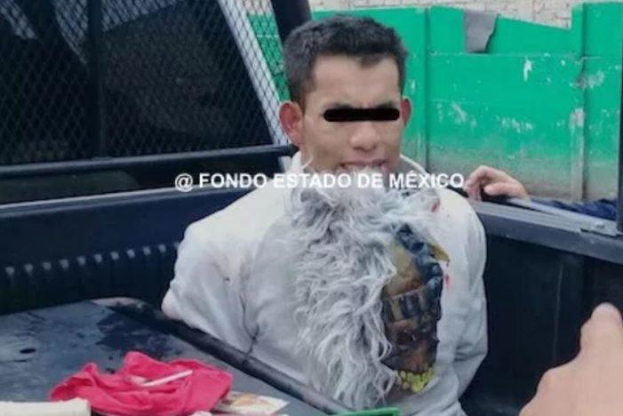 Cae ladrón enmascarado que robó a más de 66 tiendas en el Edomex