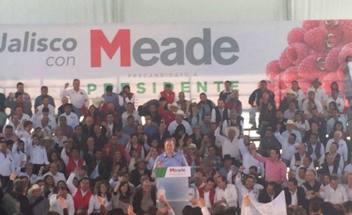 Acarrean a cientos de beneficiarios de prospera para evento de Meade