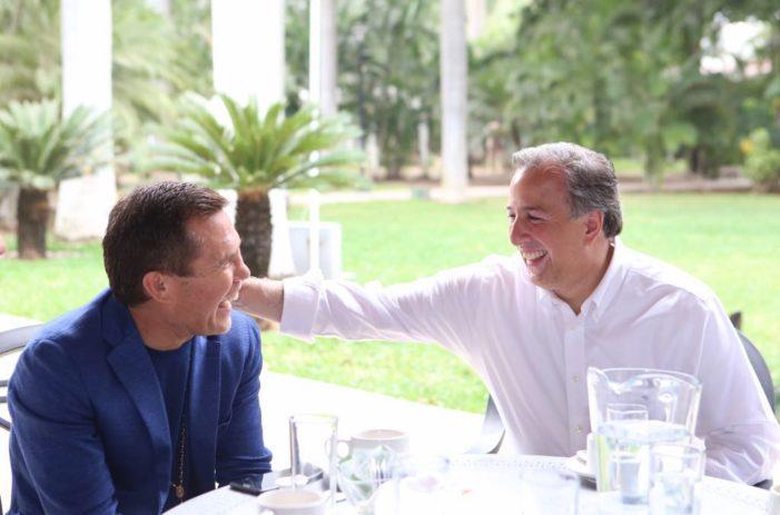 Julio César Chávez responde tras ser criticado por foto con Meade, 'no estén chingando'