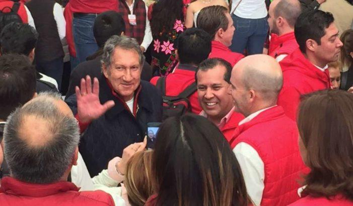 Meade dice que ganará elecciones 'al estilo Del Mazo', Arturo Montiel, funcionarios públicos y gobernadores asisten a cierre de precampaña