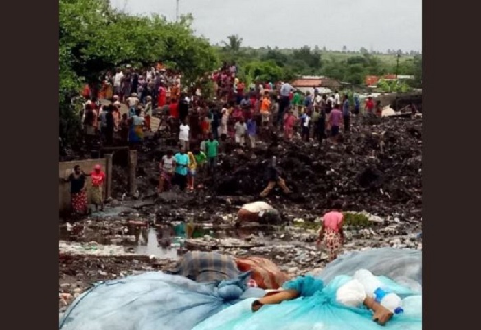 Mueren 17 por avalancha de basura en Mozambique