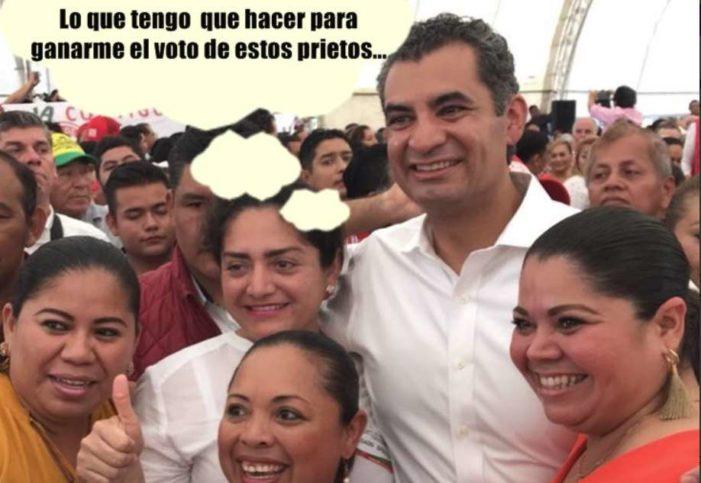 'Todos somos prietos' le dicen a Ochoa Reza en redes