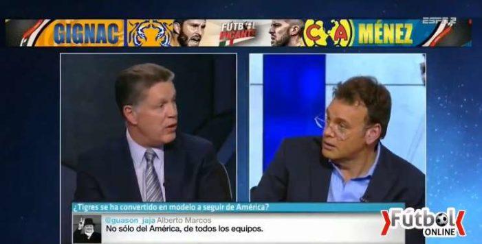 Ricardo Peláez llama estúpido a David Faitelson