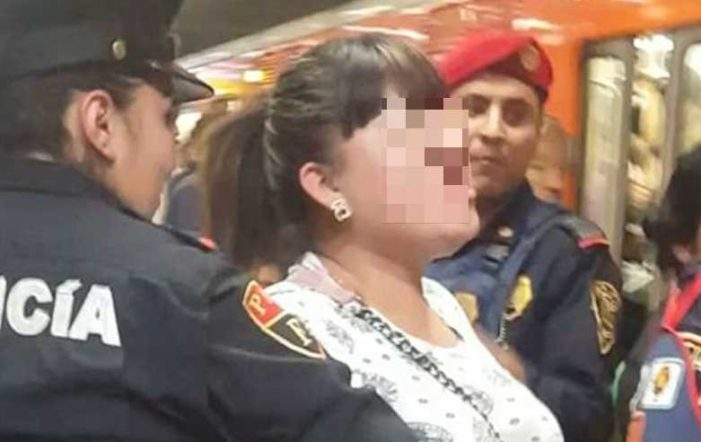 Denuncian a grupo de mujeres por robo de celular en el metro, intentaron decir que fue acoso