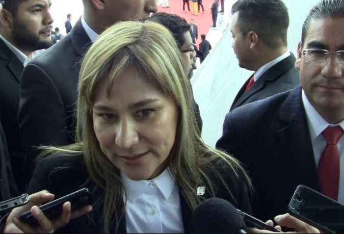 'Tanta energía que tenemos que hasta tembló', dice candidata a diputada federal del PRI