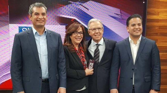 Debate entre voceros y presidentes de los partidos Morena, PRI, PAN y PRD (EN VIVO)