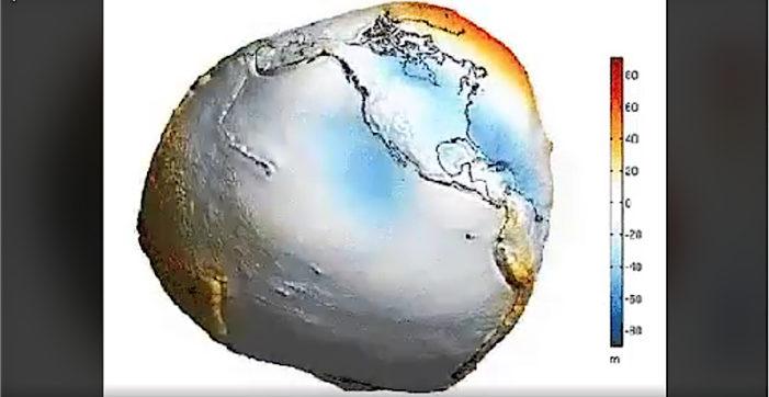 La Tierra no es redonda, mírala sin océanos (video)