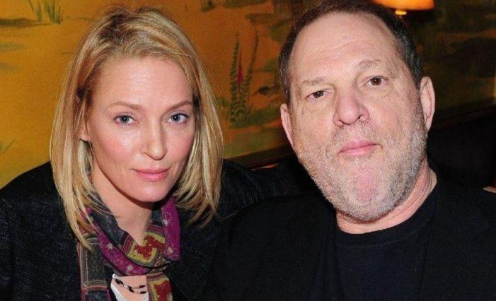 Uma Thurman confesó que fue víctima de asalto sexual por Weinstein y Tarantino lo sabía