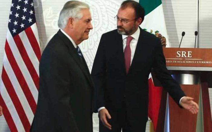 Las 12 visitas de Videgaray a EU no han logrado beneficiar a México: TWP