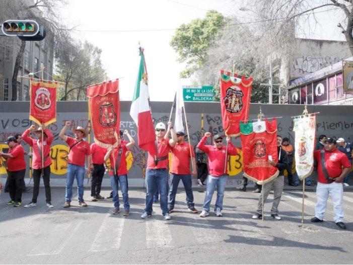 Mineros apoyan candidatura de Napoleón Gómez Urrutia por Morena