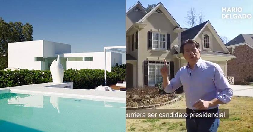 Mario Delgado visita casa de Anaya en Atlanta