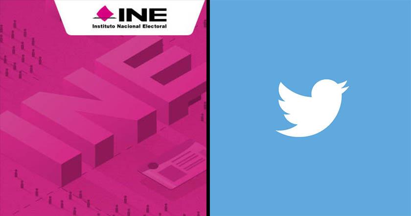 INE y Twitter