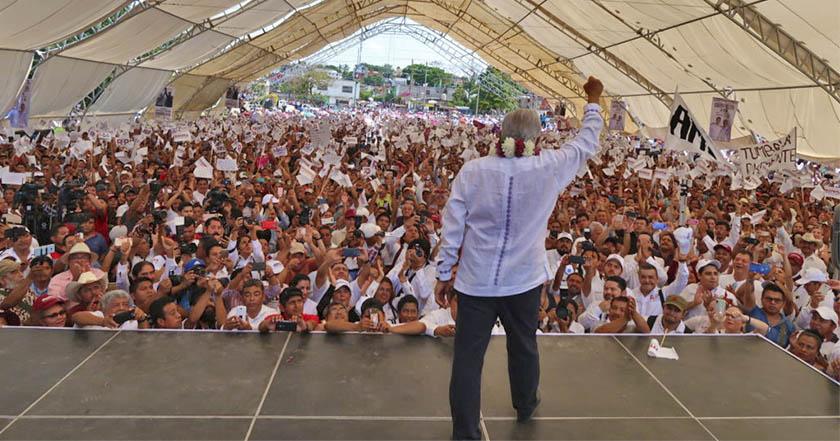Mitin de AMLO en Veracruz cambia de sede ante negativa de autoridades