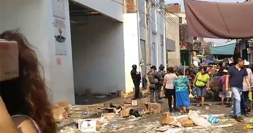 Rechazan pago de piso en Guerrero y los saquean