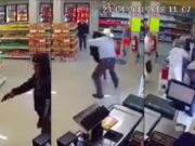 Norteño somete a mano limpia a un ladrón armado en Monterrey (Video)
