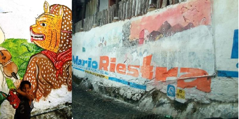 Peor para el pan dice autor de mural destruido en xochitl n for El mural de mosaicos