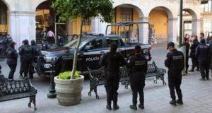 Policías de Celaya